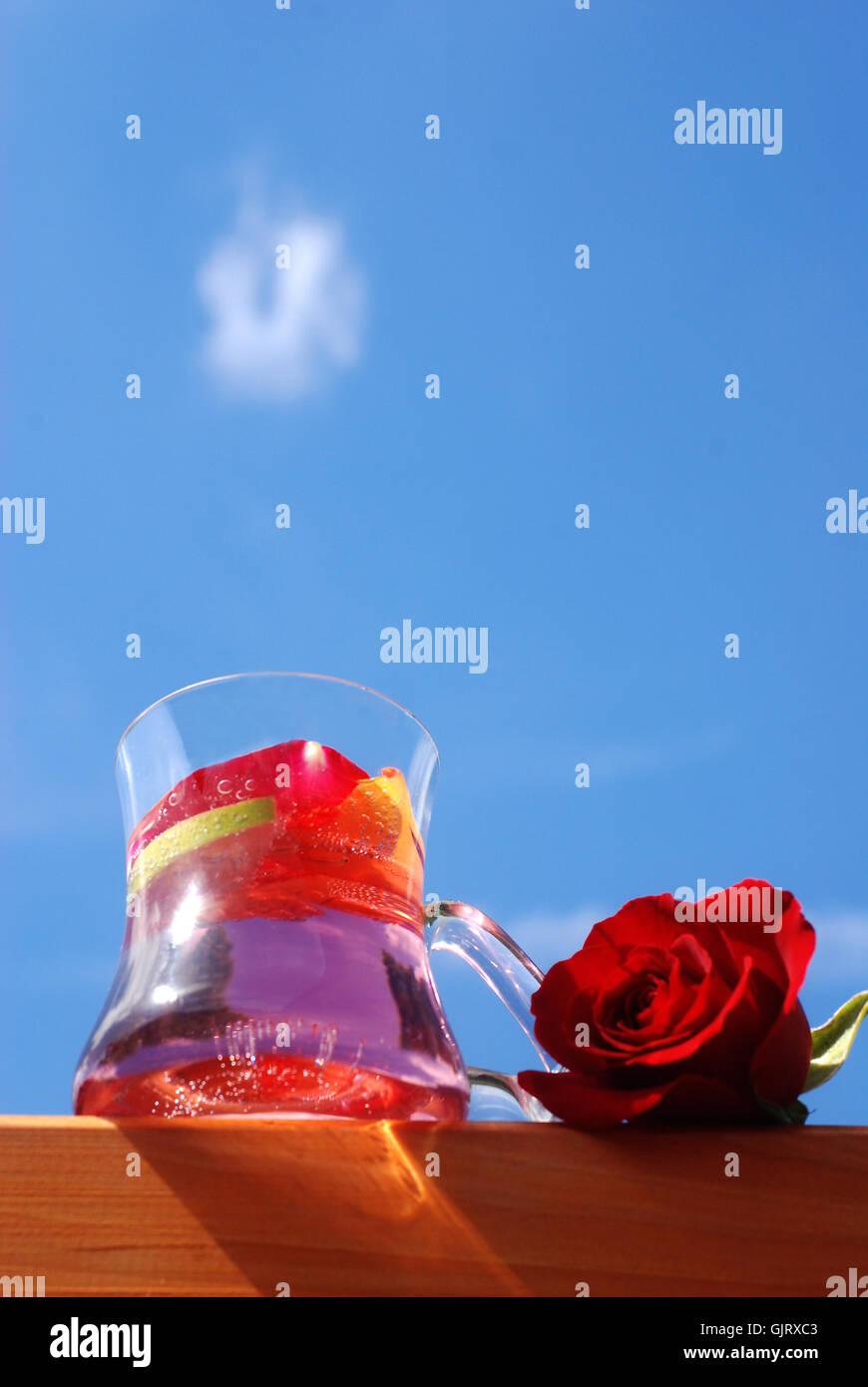 summer summerly glasses - Stock Image