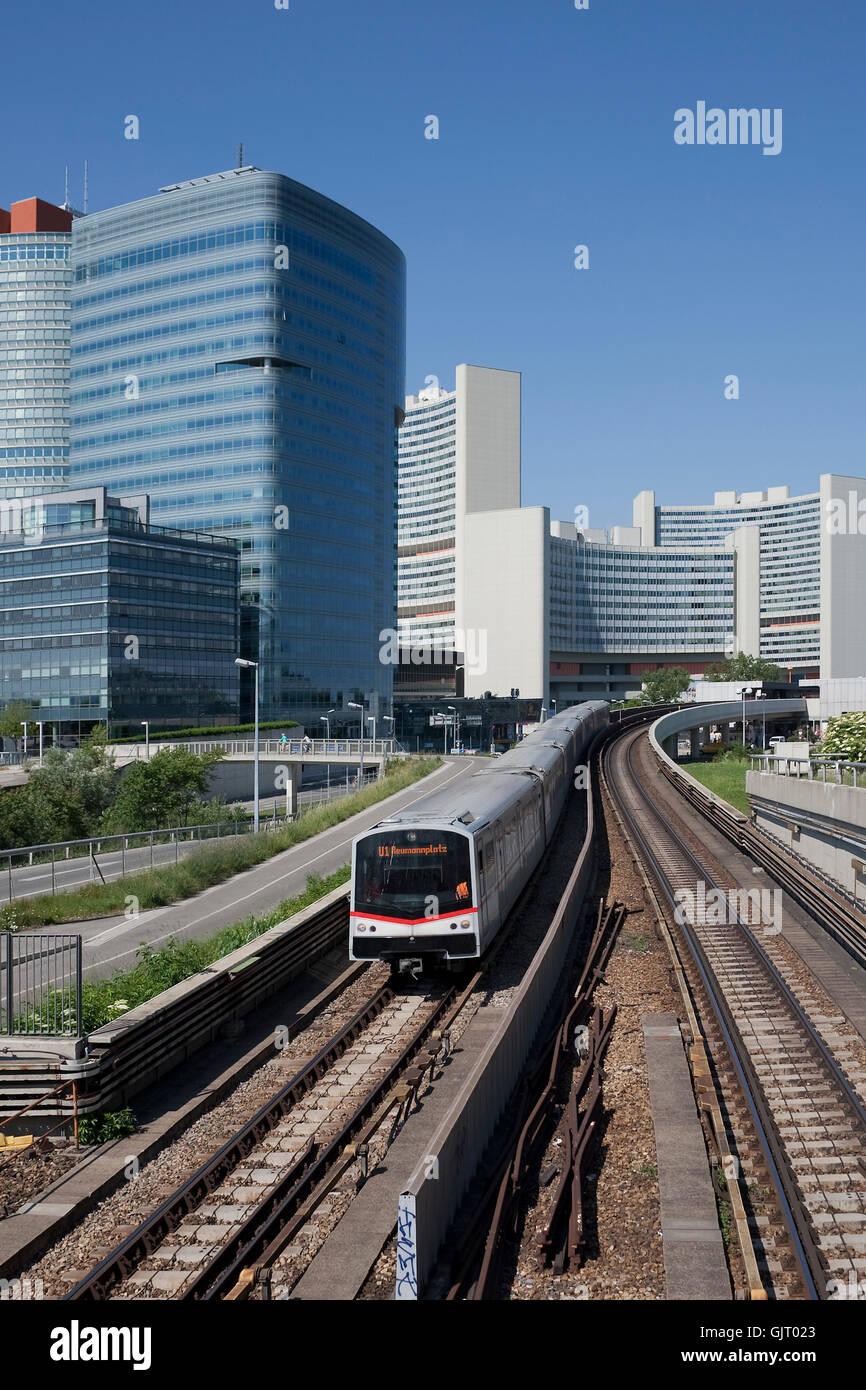 metro vienna metro - Stock Image