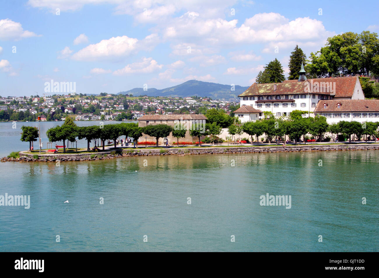 switzerland,rapperswil-2 - Stock Image
