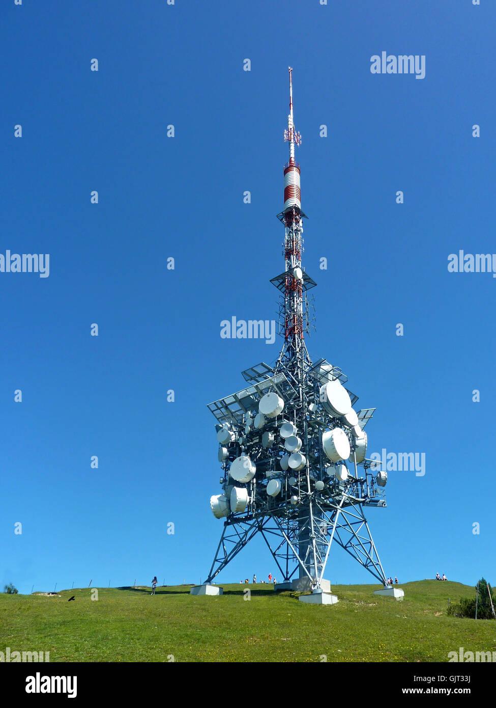 transmission tower 4 - Stock Image