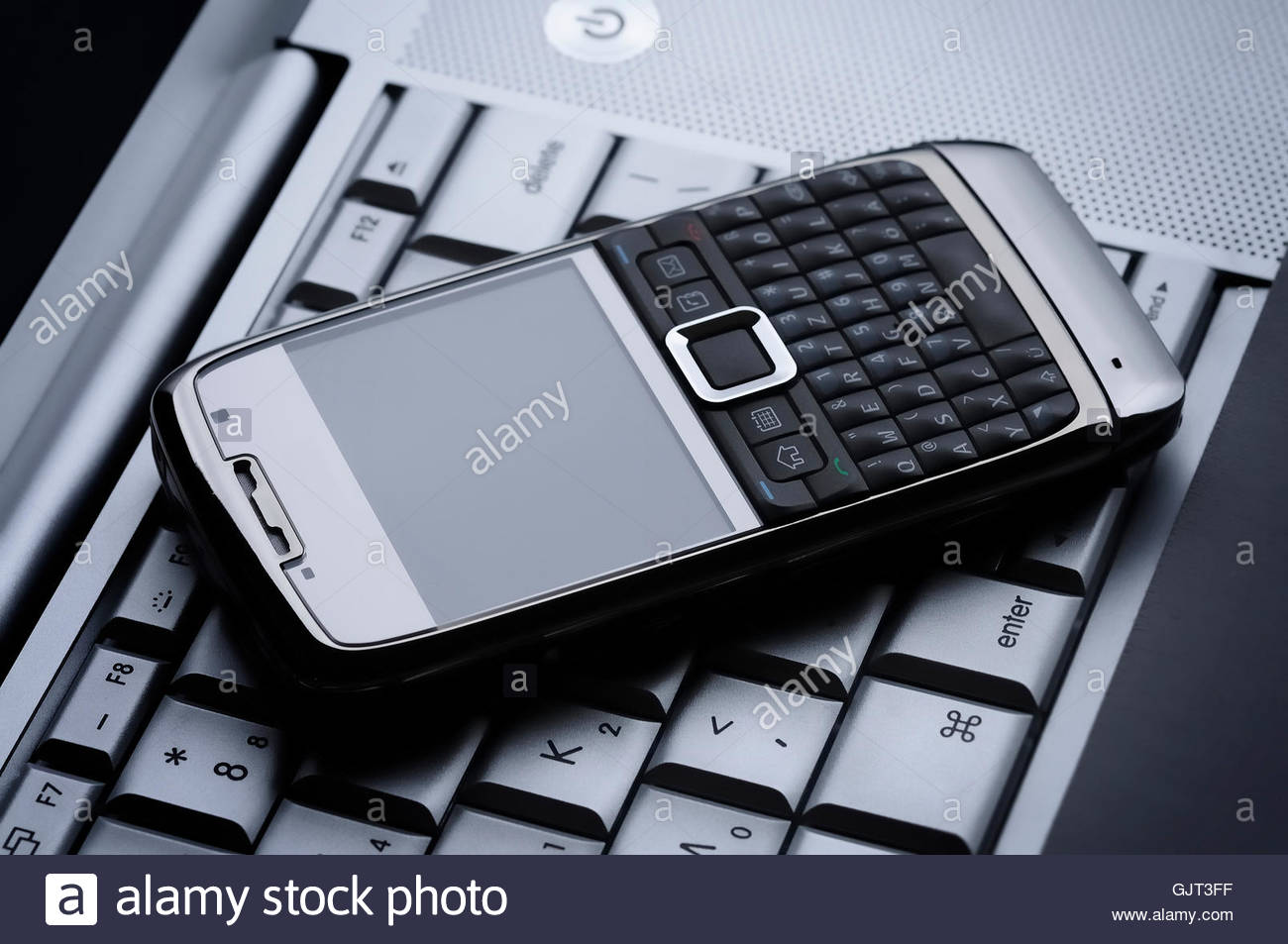 pda data informations - Stock Image