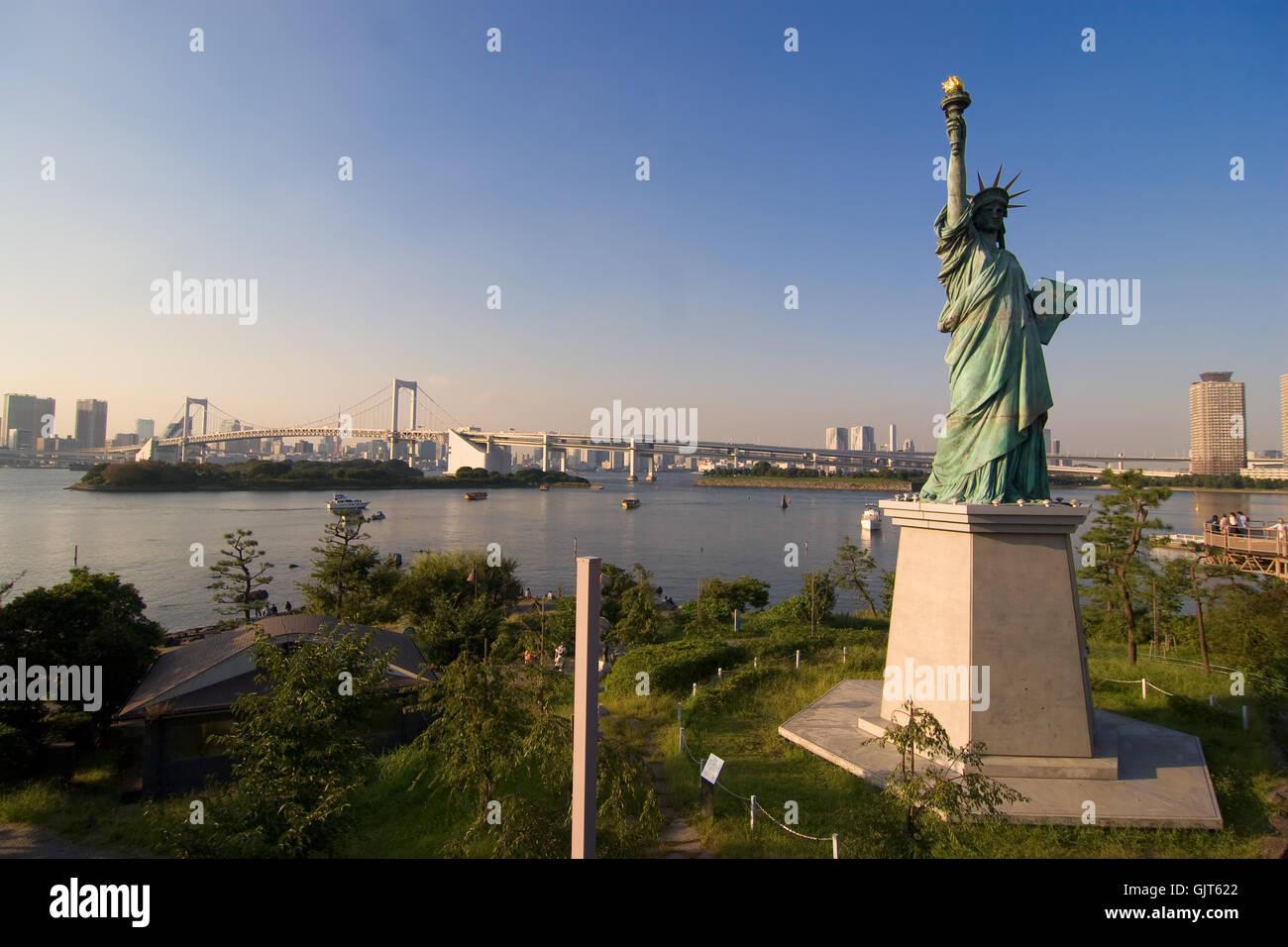 new york tokyo - Stock Image