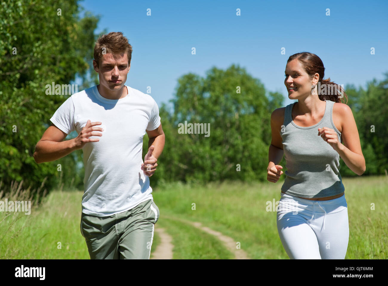 woman sport sports - Stock Image