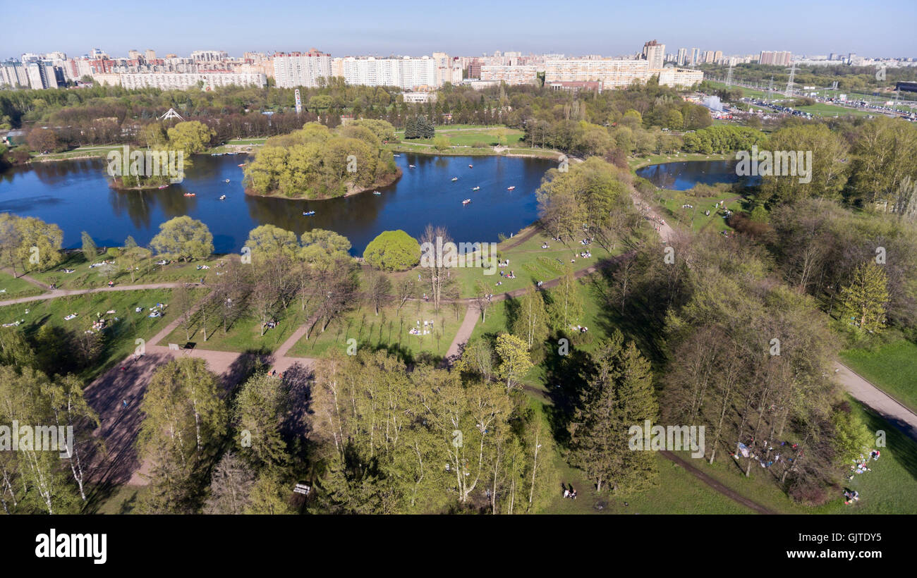 South Primorsky Park in St. Petersburg 9