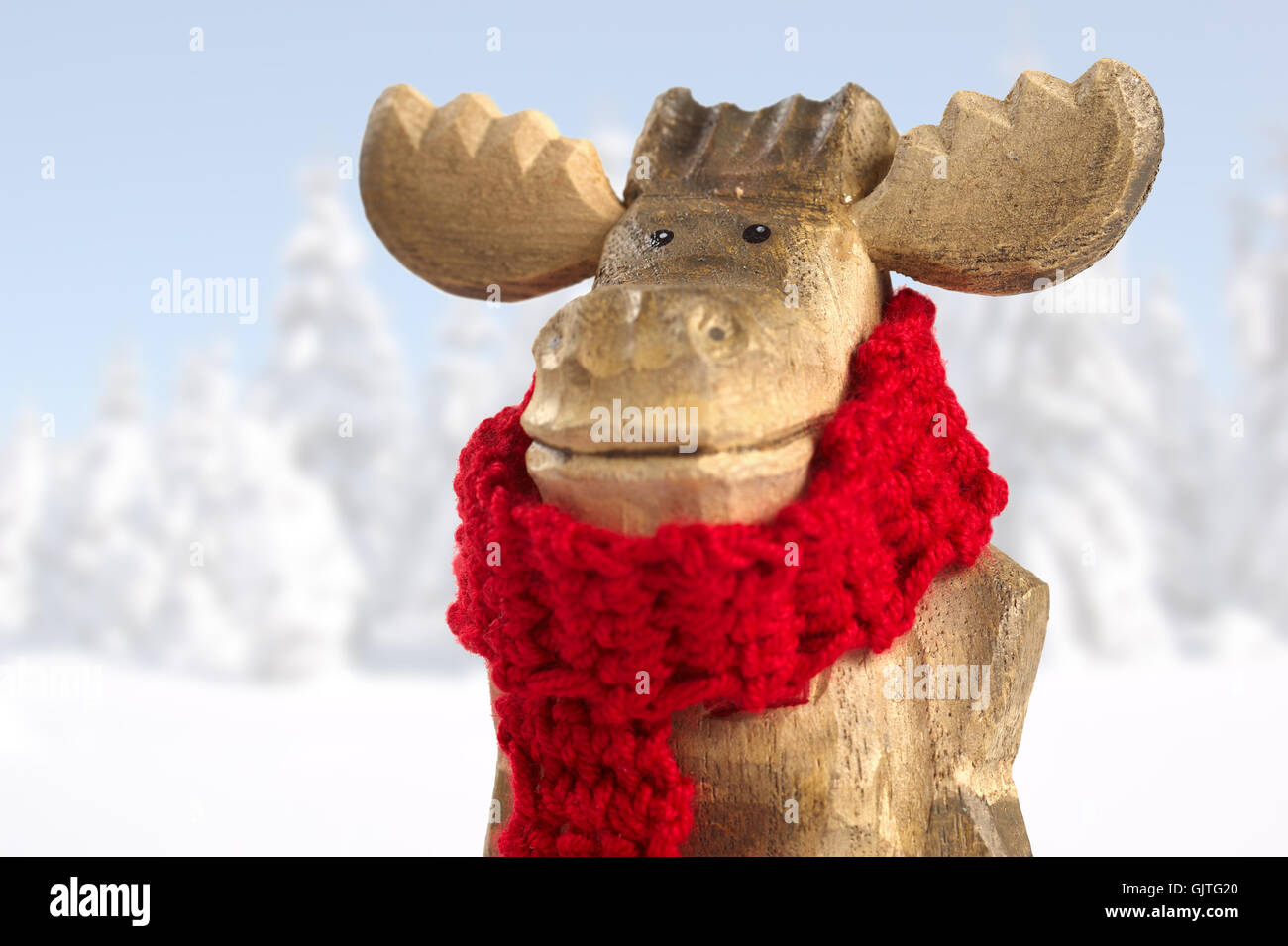decoration scarf carve - Stock Image