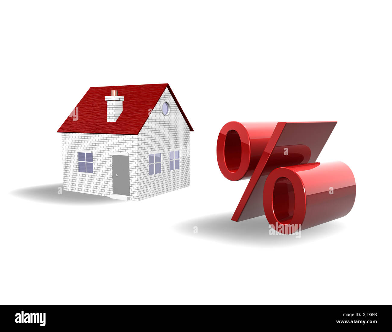 house building inexpensive - Stock Image