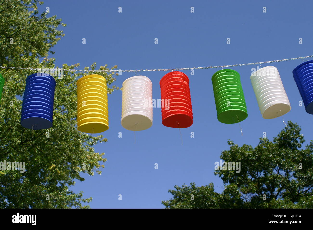 summer summerly party - Stock Image