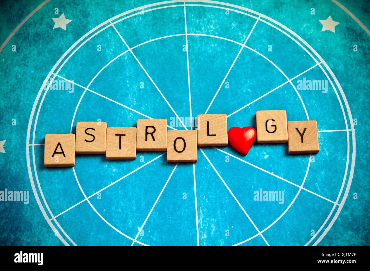 love astrology Stock Photo