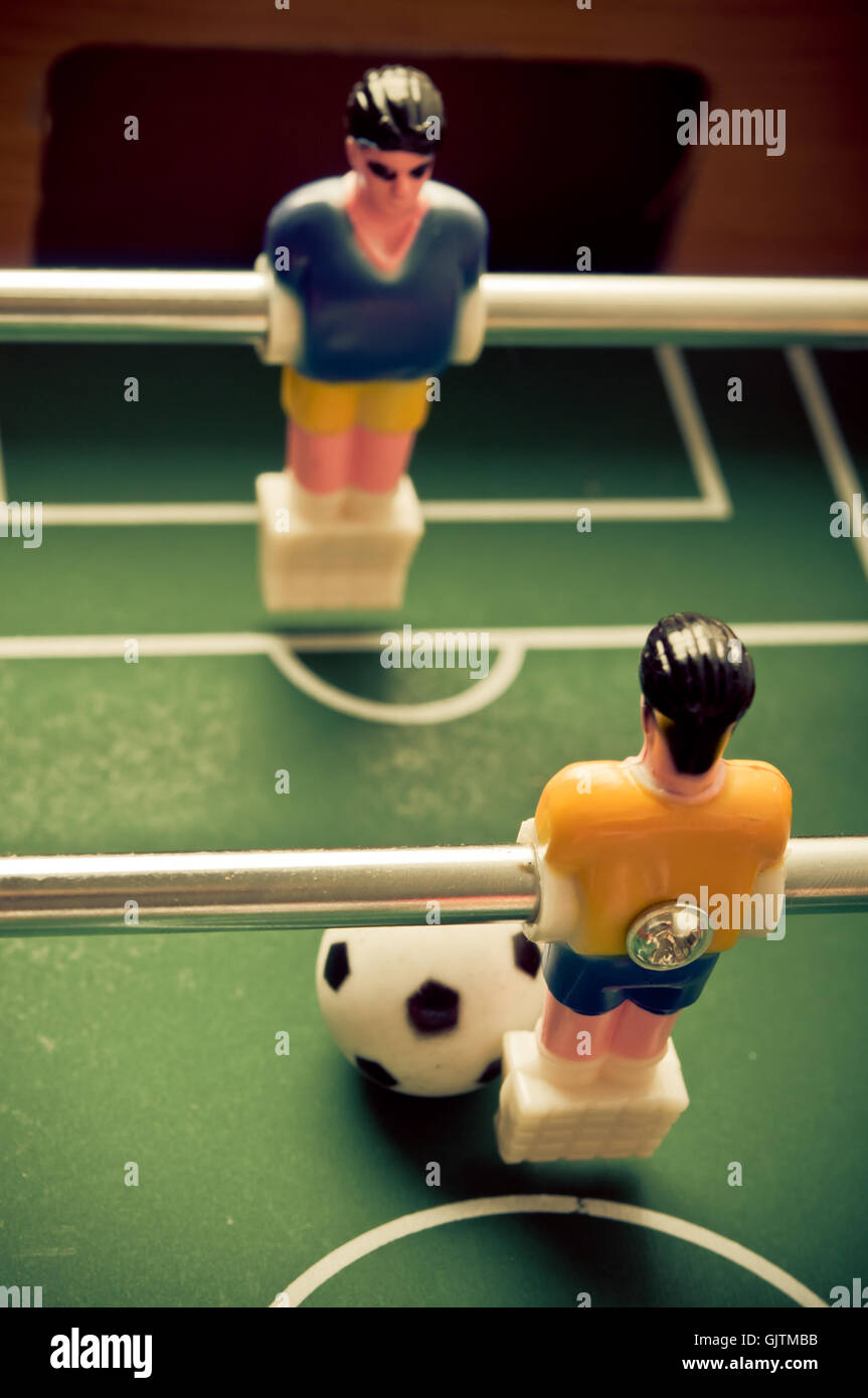 table football - Stock Image