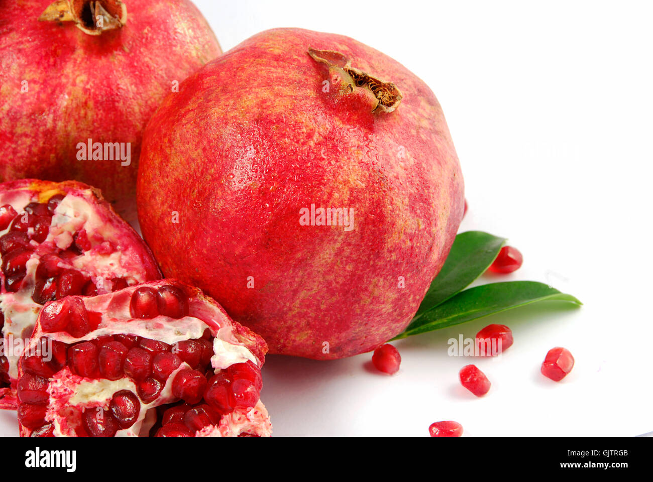 ripe fruit emblements - Stock Image