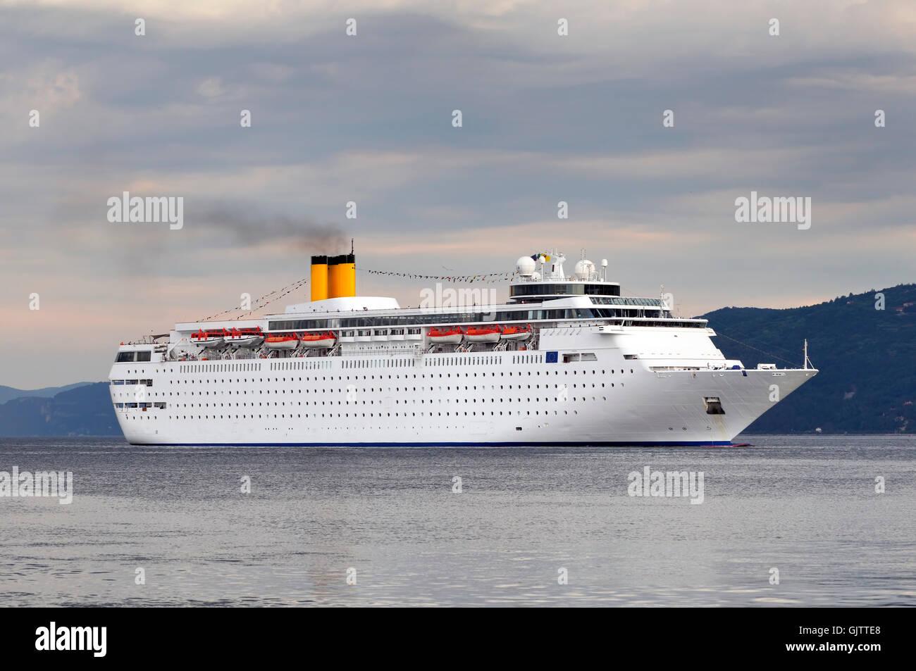 travel cruise luxury - Stock Image