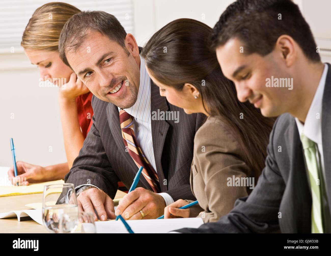 woman conversation talk Stock Photo
