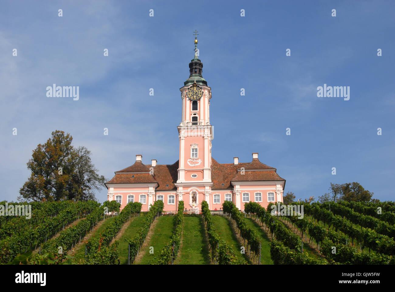 klosterkirche birnau - Stock Image