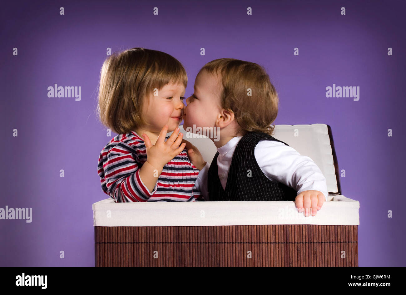 romantic affection endearing - Stock Image