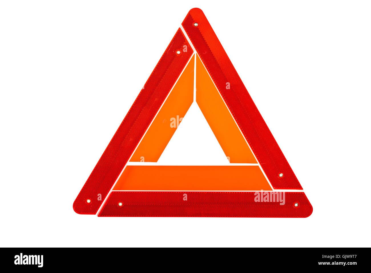 sign signal danger - Stock Image
