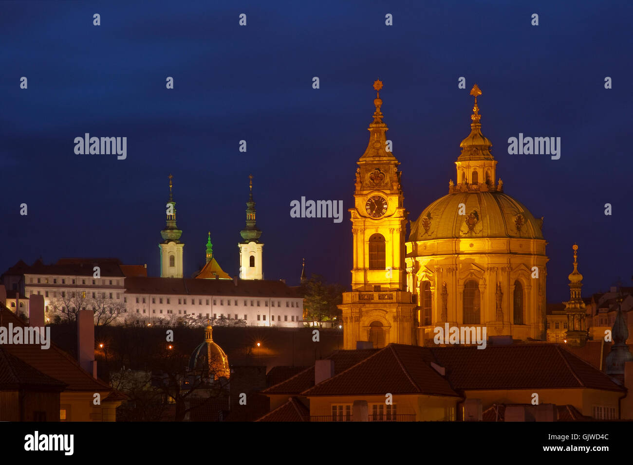 prague monastery czechia Stock Photo