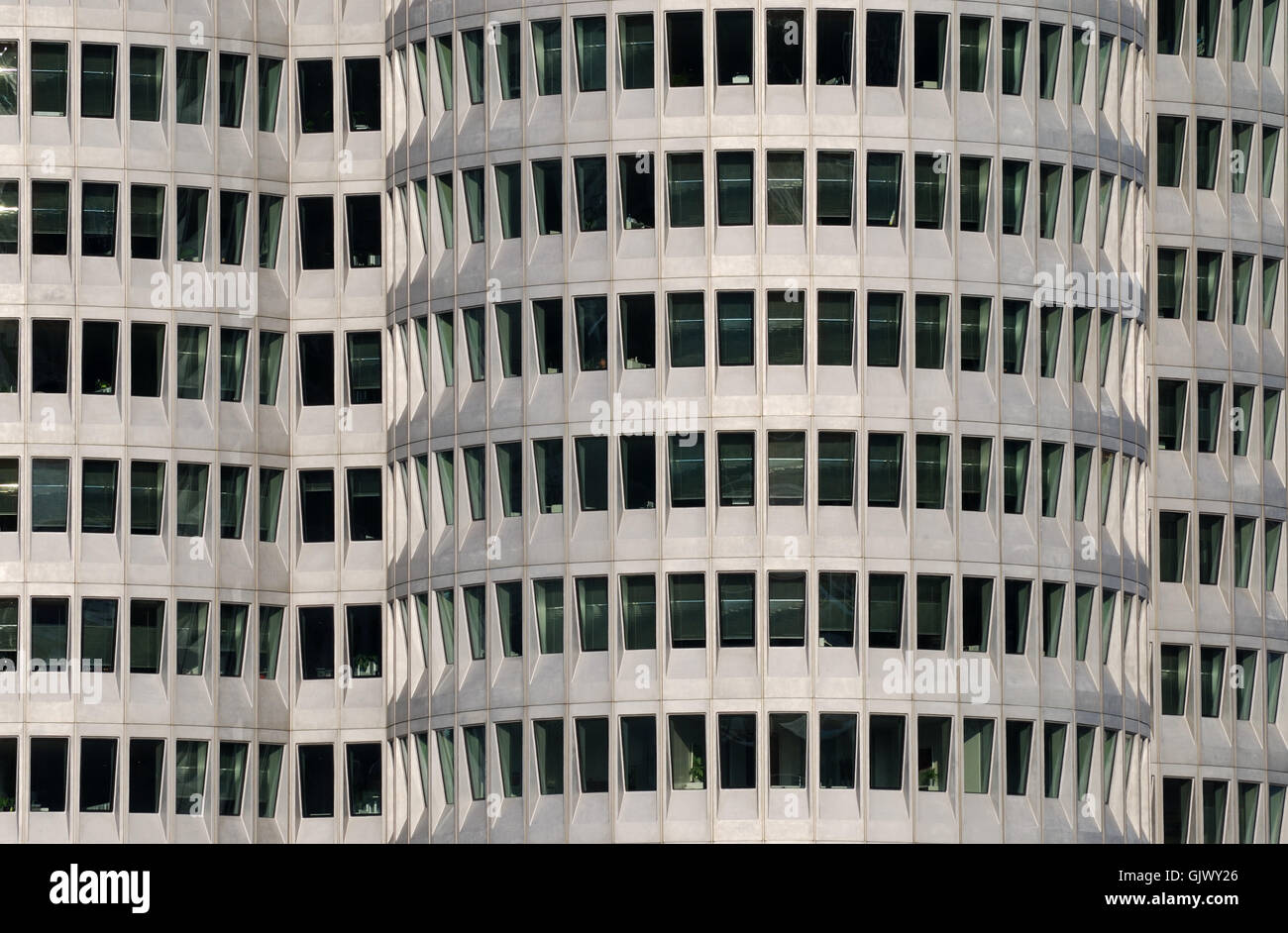 tower style of construction architecture Stock Photo