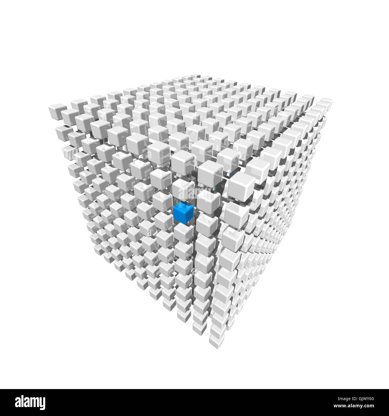 isolated three-dimensional three - Stock Image