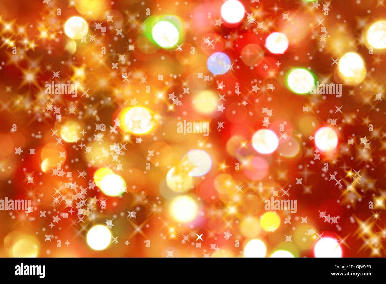 glow shimmer abstract - Stock Image