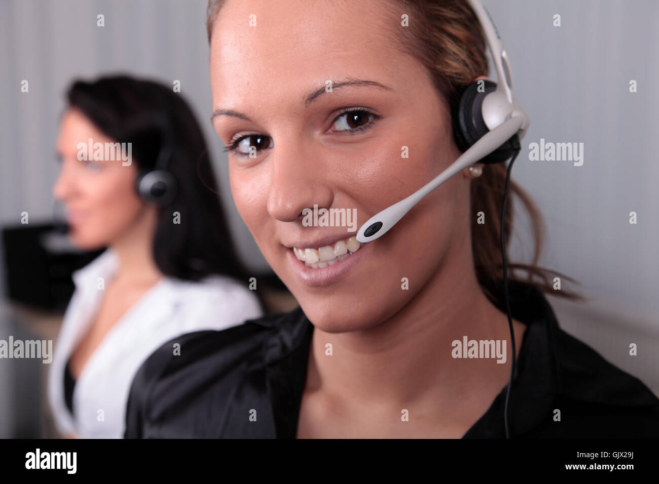 inbound outbound telephony - Stock Image