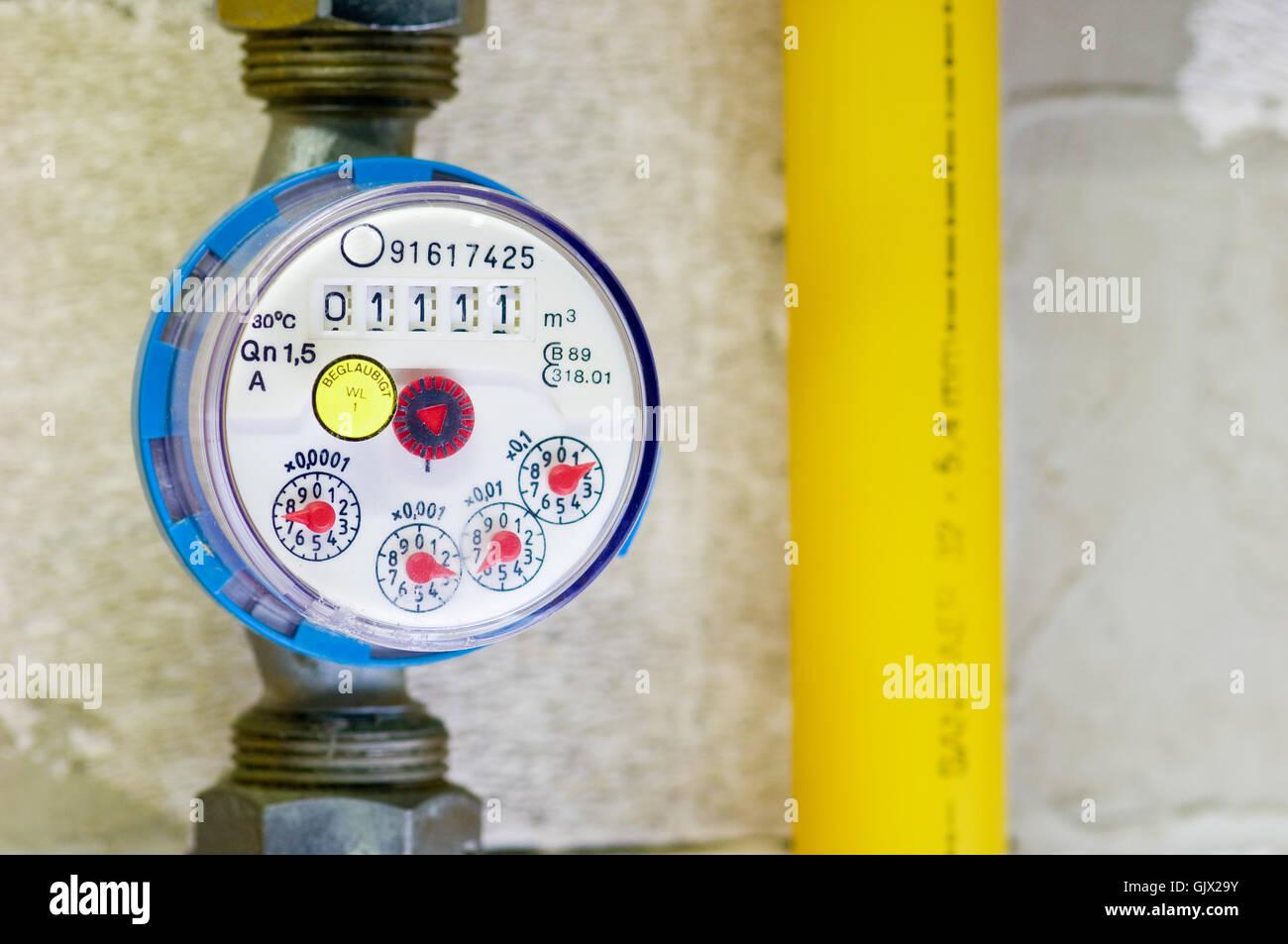 water meter Stock Photo