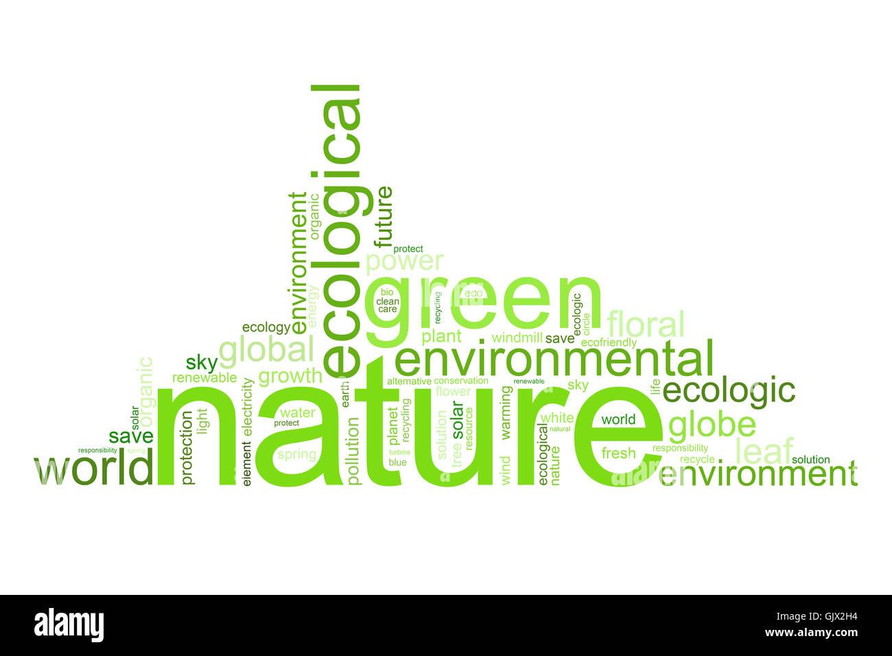 natur grun umwelt umweltschutz erde zukunft okologie naturschutz natur grun umwelt umweltschutz erde zukunft okologie - Stock Image