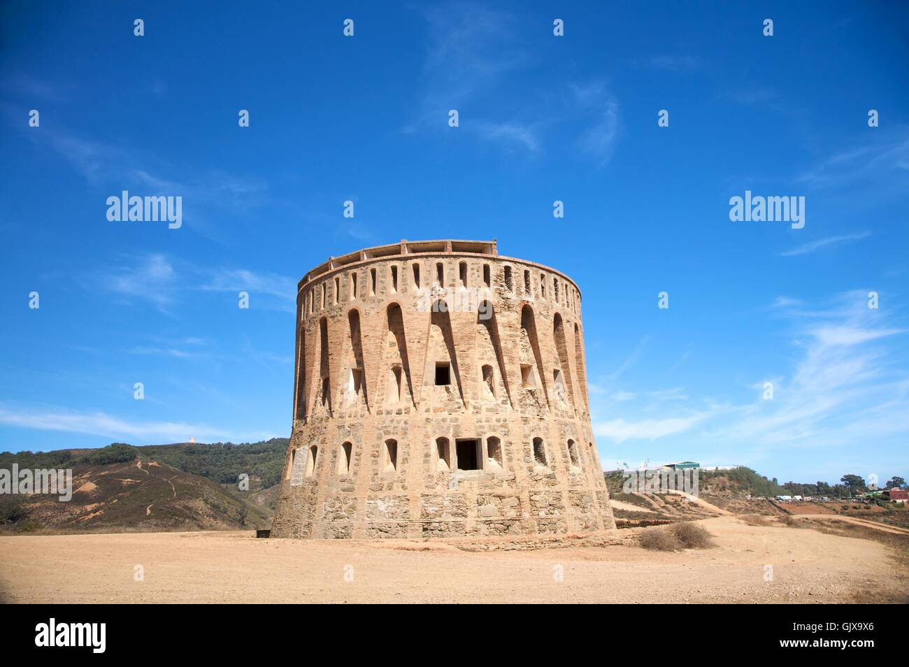 tower monument stone - Stock Image