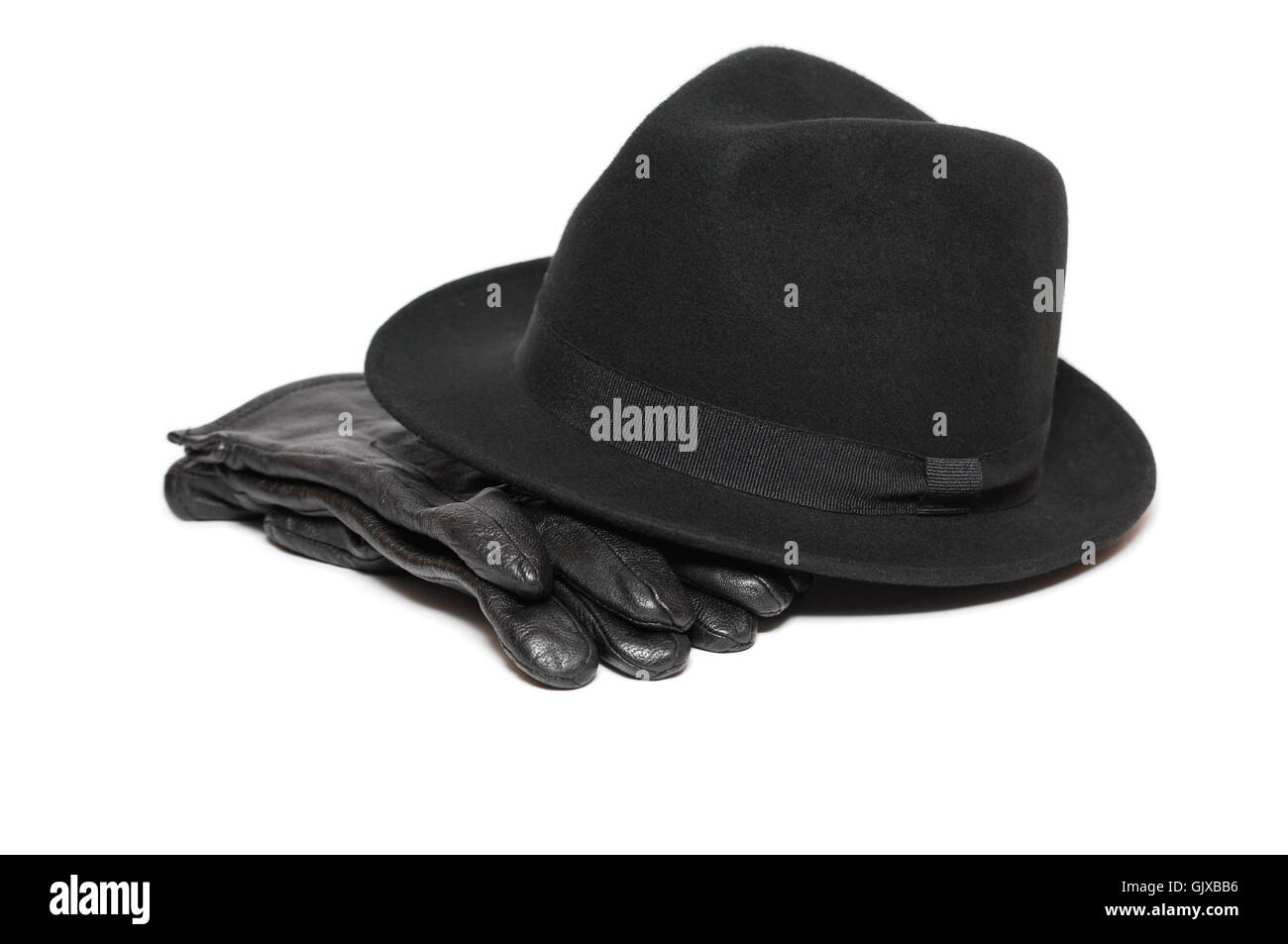 Hat And Gloves - Stock Image