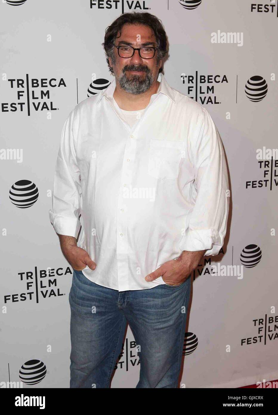 2016 Tribeca Film Festival - 'Untouchable' premiere at Bow Tie Chelsea Theatre - Arrivals  Featuring: Director, - Stock Image