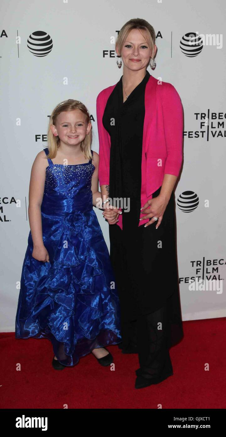 2016 Tribeca Film Festival - 'Untouchable' premiere at Bow Tie Chelsea Theatre - Arrivals  Featuring: Shawna - Stock Image