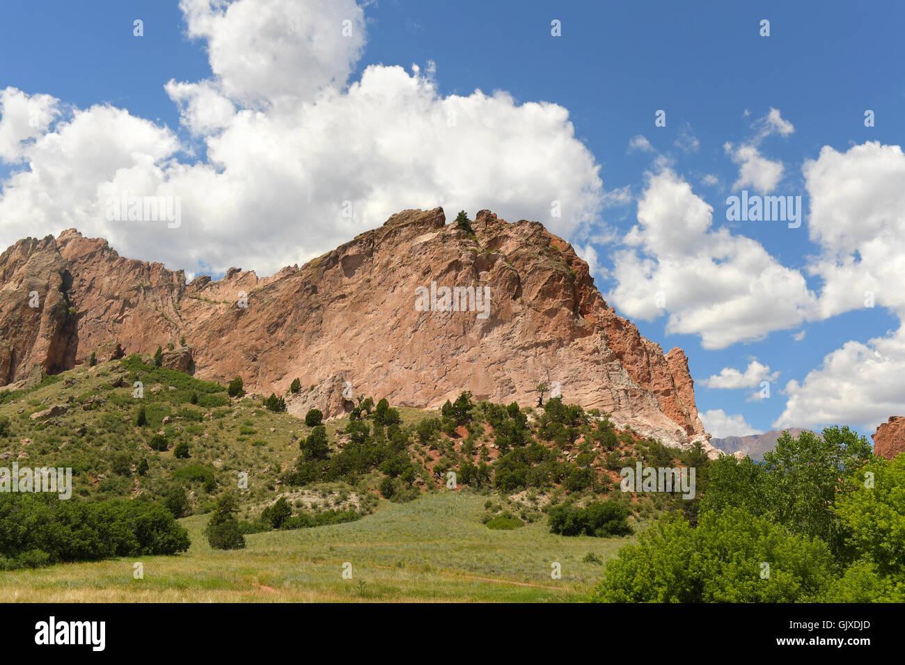 Garden Gods In Colorado Springs Stock Photos & Garden Gods In ...
