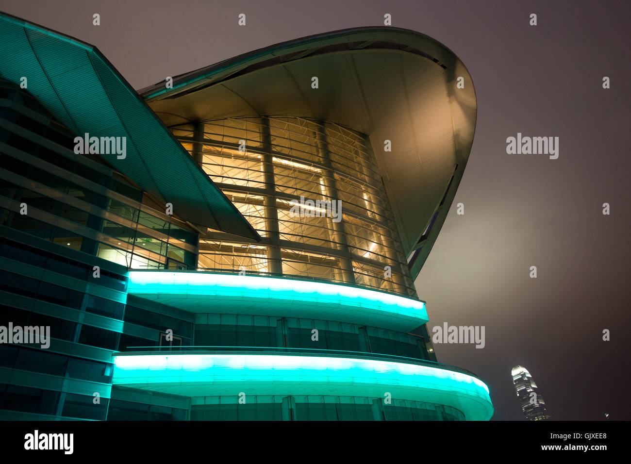 Hong Kong Convention and Exhibition Centre - Stock Image
