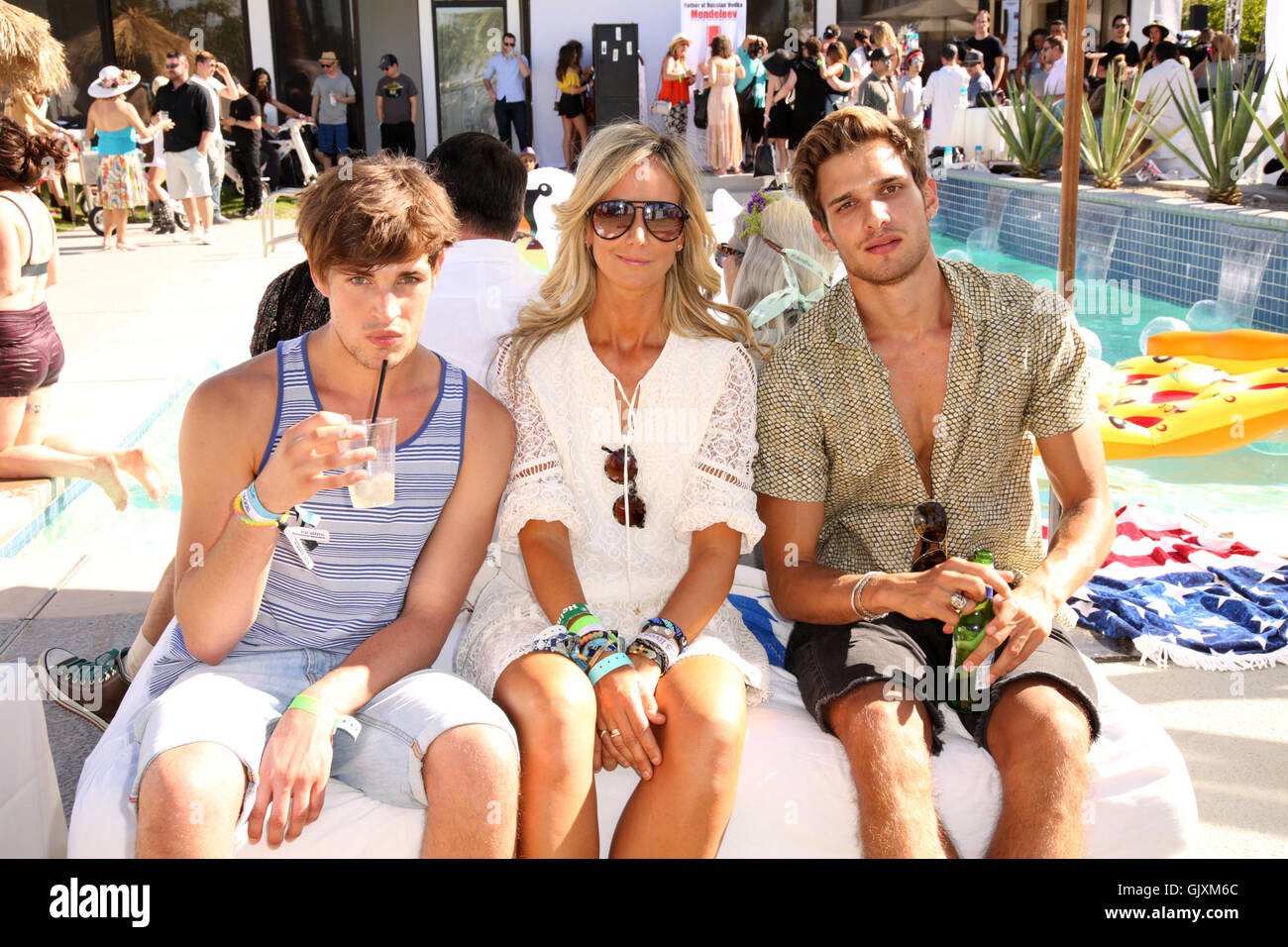 Celebrities attend Paradise House Presented By Interview Hosted By Susan Holmes-McKagan in Palm Springs.  Featuring: - Stock Image