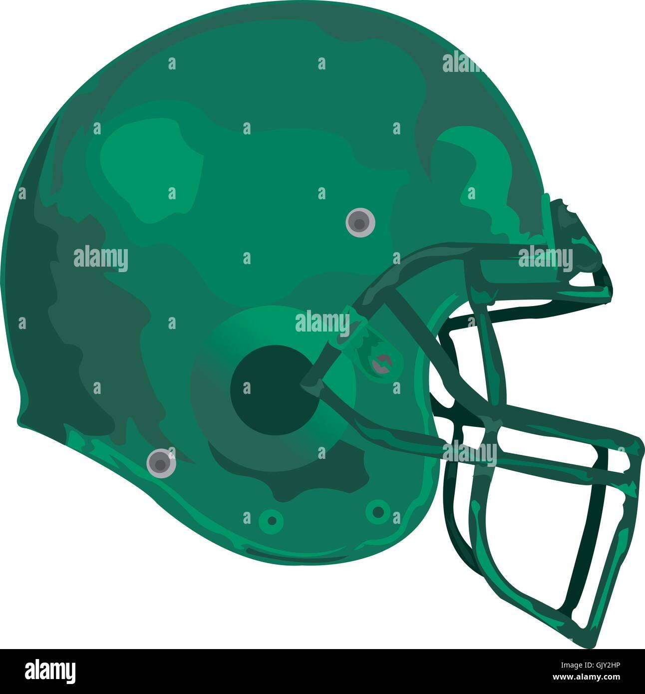 Gridiron Helmet - Stock Vector