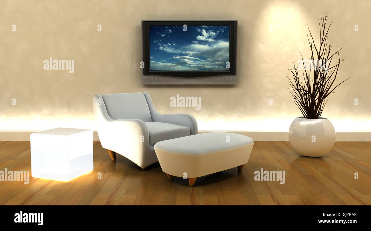 armchair house building - Stock Image