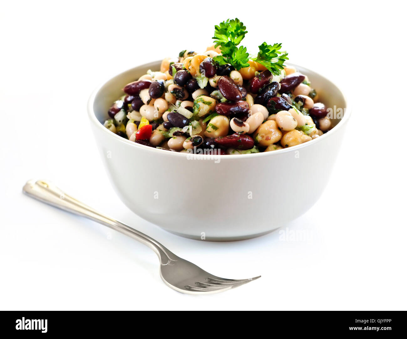 beans chick vegetables - Stock Image