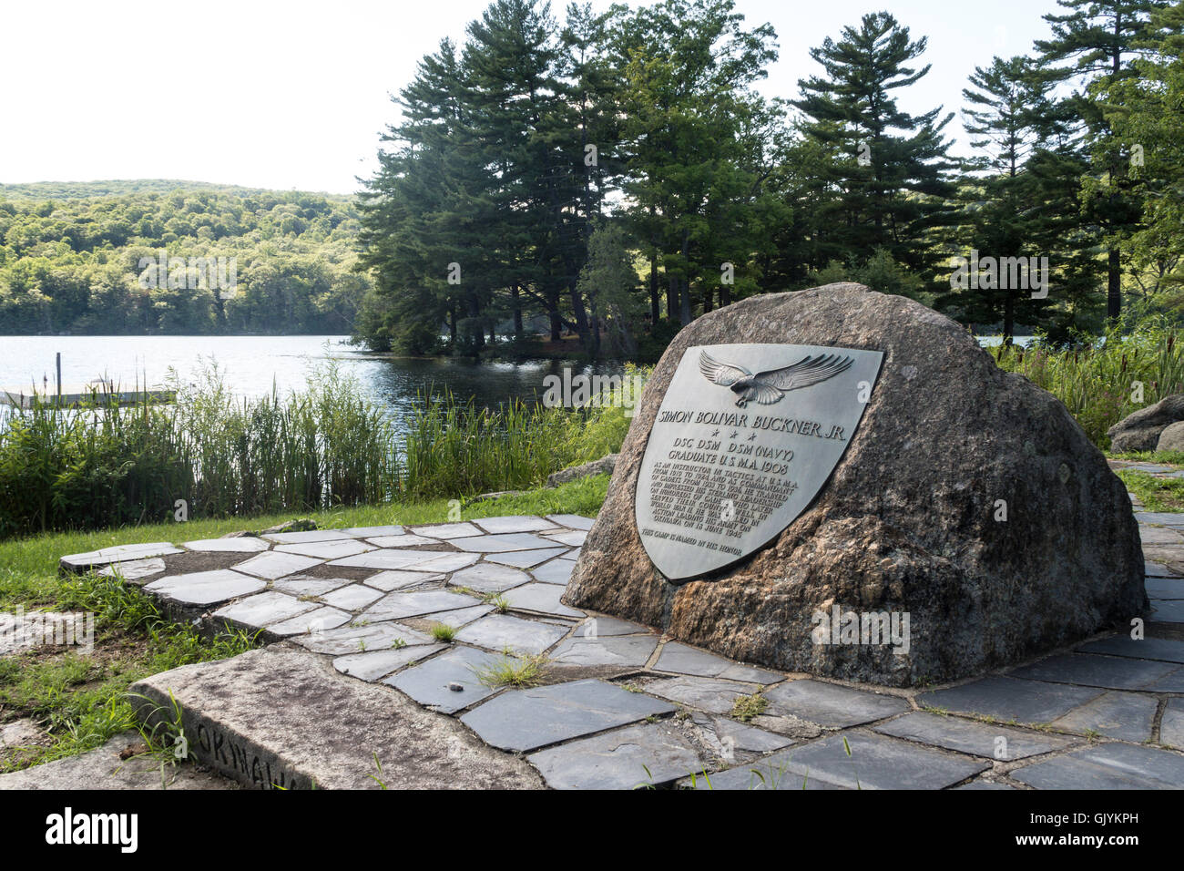 Camp Buckner at the United States Military Academy, West Point, NY, USA - Stock Image