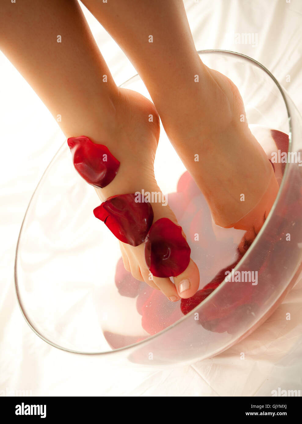 wellness for the feet Stock Photo