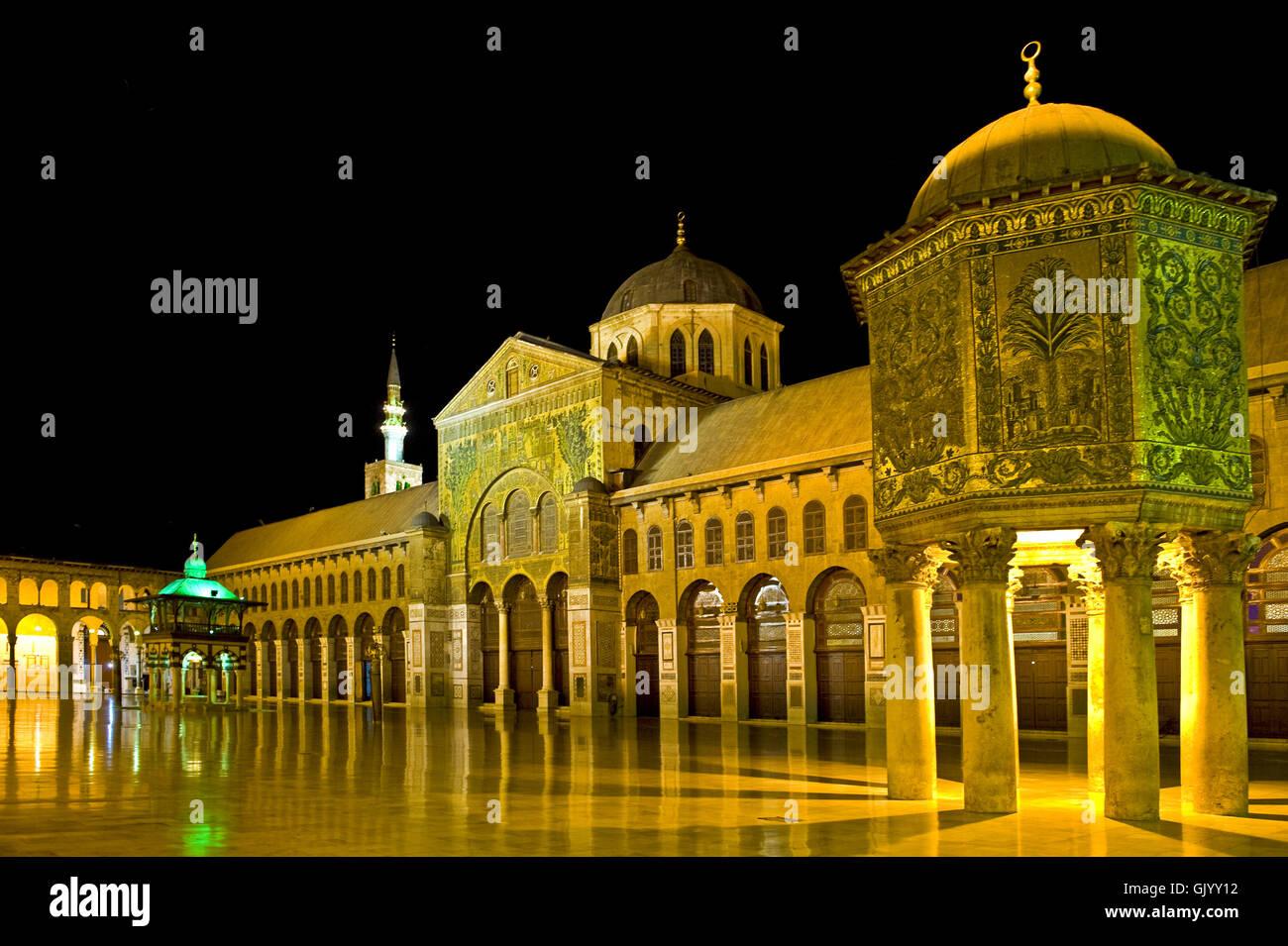 umayyad mosque - Stock Image