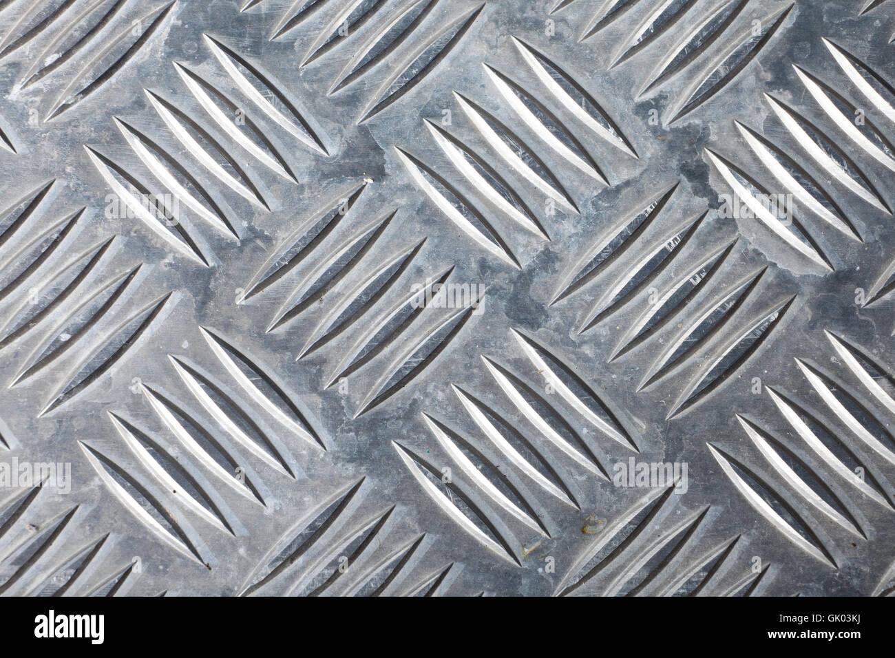 dirty corrugated sheet metal background - Stock Image