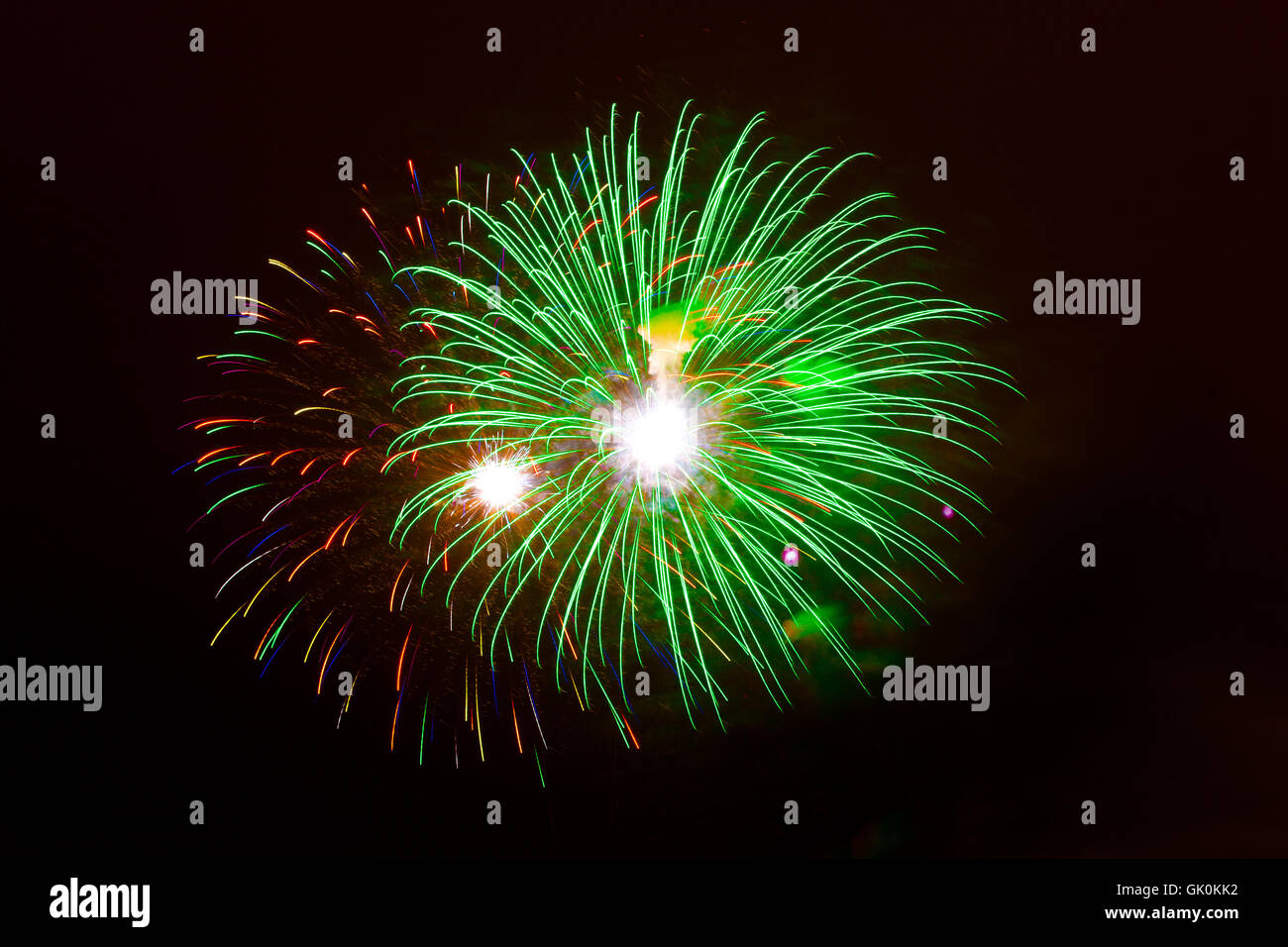 country basque firework - Stock Image