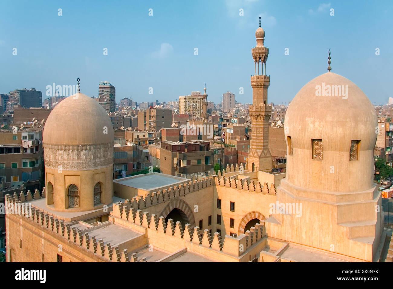 tourism cairo islam - Stock Image