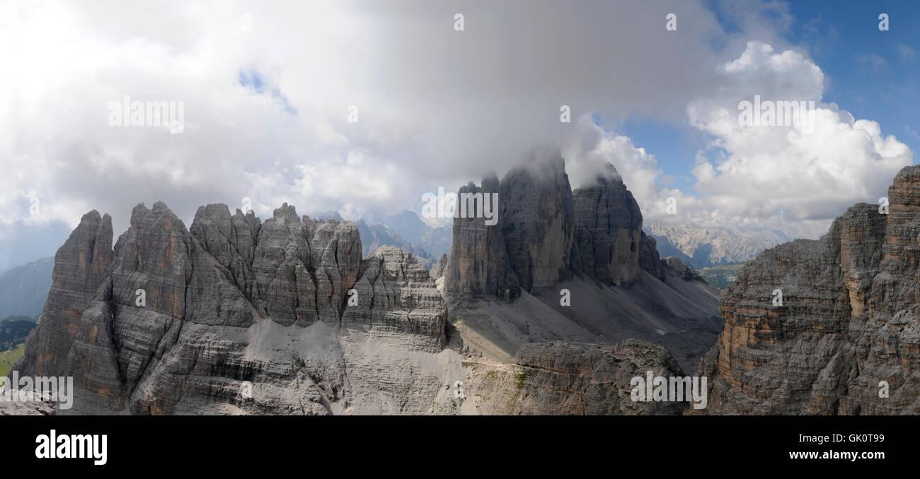 Klettersteig Paternkofel : Klettersteig ivano dibona in den dolomiten cortina d ampezzo
