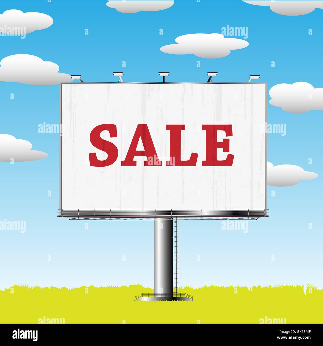 advancement advertisement advertise - Stock Image