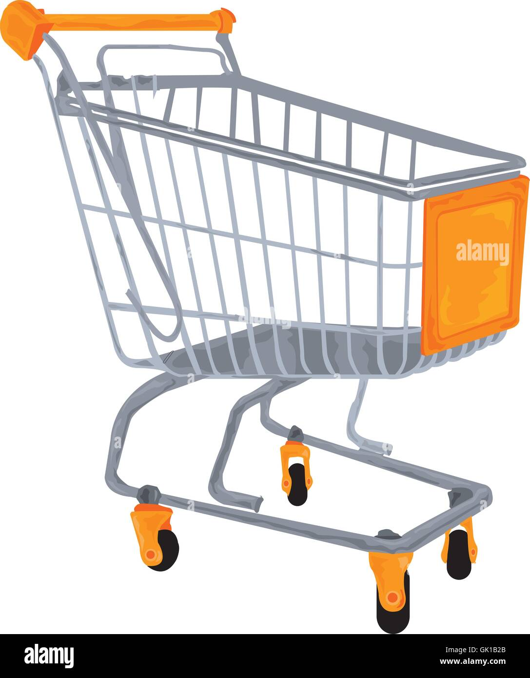 Shopping Cart - Stock Vector