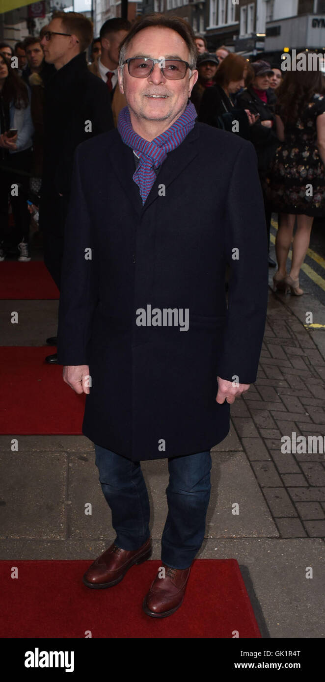 Doctor Faustus gala evening at Duke Of York's Theatre - Outside Arrivals  Featuring: Ron Cook Where: London, - Stock Image