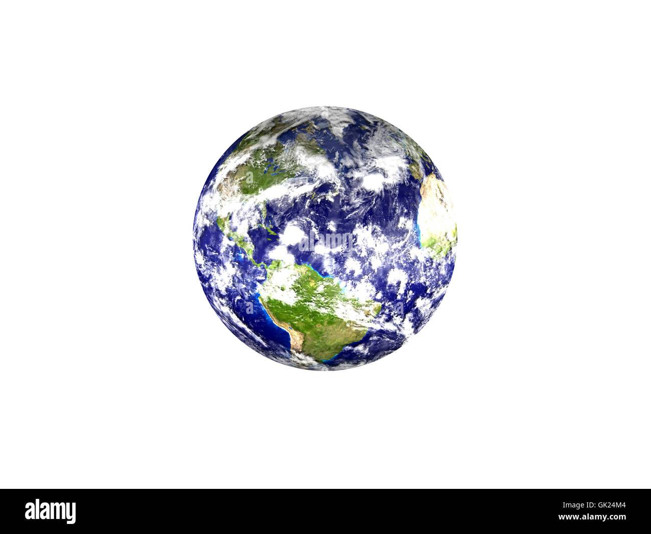 isolated usa america - Stock Image