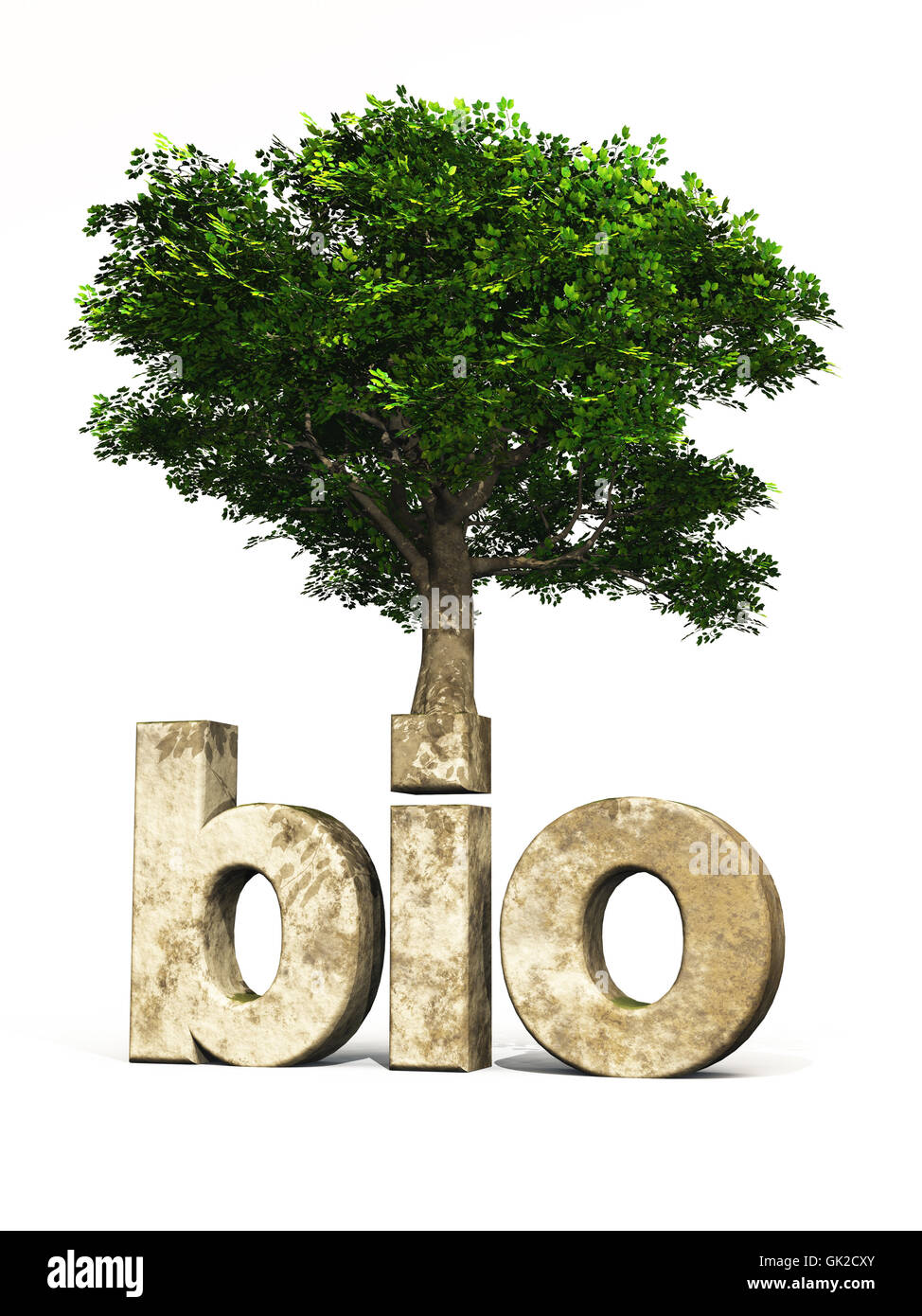 eco model design - Stock Image