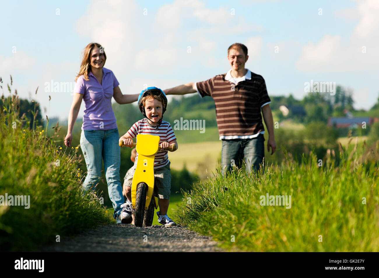 walk go going - Stock Image