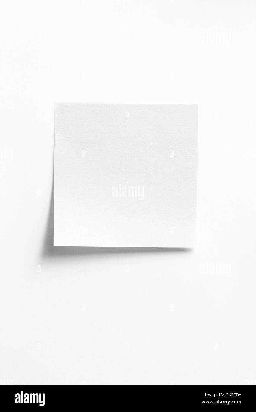 note memo office - Stock Image